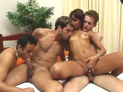 Bi Group Sex Club 6 - Scene 2