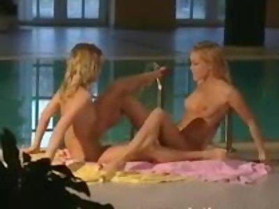 Perfect lesbians get wet and cum ass to ass
